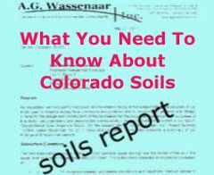 colorado soils report