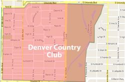 Denver_Country_Club map