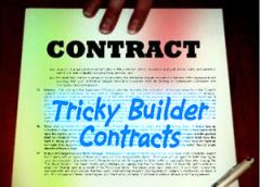 home builder contract