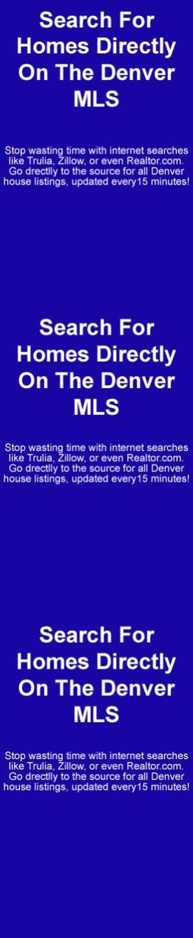 search homes denver mls