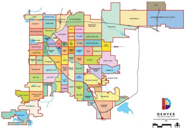 neighborhood map denver county