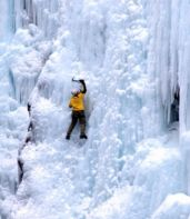ice climbing ouray