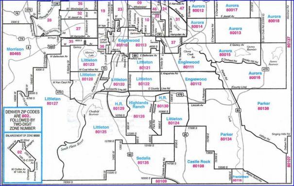 Zip Code Map Denver Denver Zip Codes Map | Search Denver By Zip Code Zip Code Map Denver